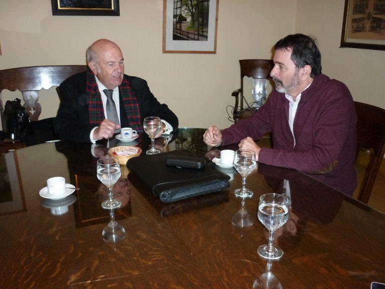 SADOP se reunió con autoridades de la UCU