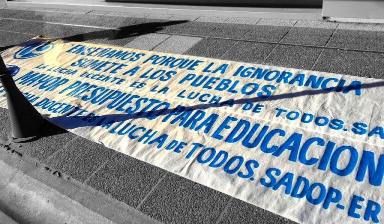 SADOP: Mañana PARO y MOVILIZACIÓN