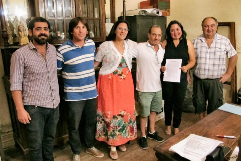 Se firmó el convenio entre SADOP y la Comisión del Carnaval del País.