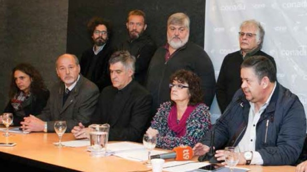 SADOP, CTERA, UDA Y CEA piden al Senado la aprobación del proyecto de Ley de Ganancias.