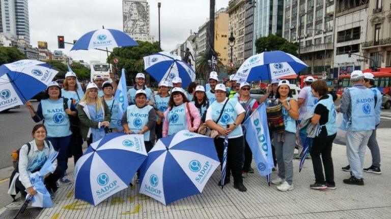 SADOP Entre Ríos presente en la Marcha Federal