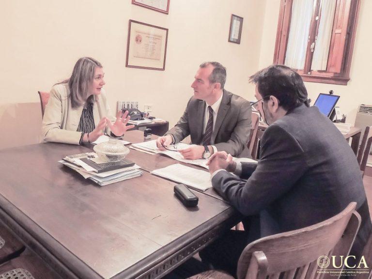 SADOP Entre Ríos firmó un acuerdo con la Universidad Católica Argentina sede Paraná.
