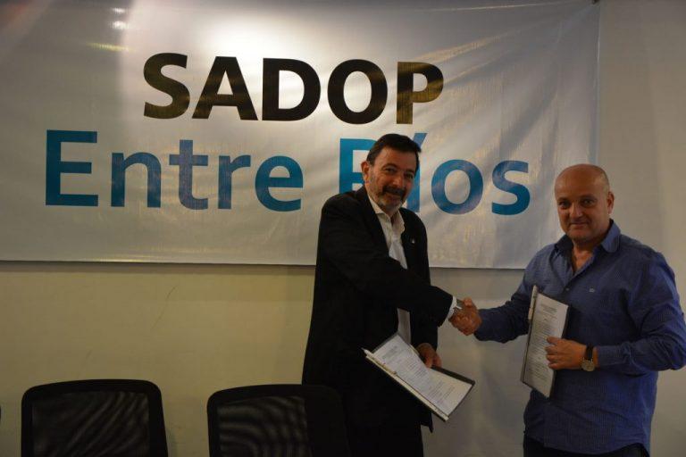 Sadop y la Fundación Archipiélago firmaron un convenio