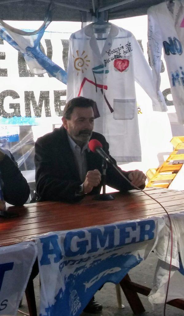 """La Carpa Docente """"ha sido un baluarte en el reclamo de nuestros derechos""""."""
