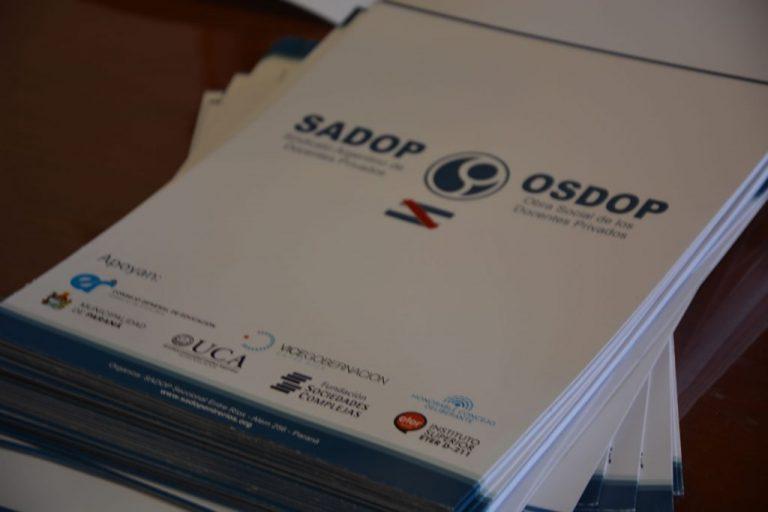 SADOP Entre Ríos firmó un convenio de colaboración con ETER Paraná
