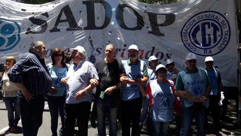 SADOP marchó al Congreso