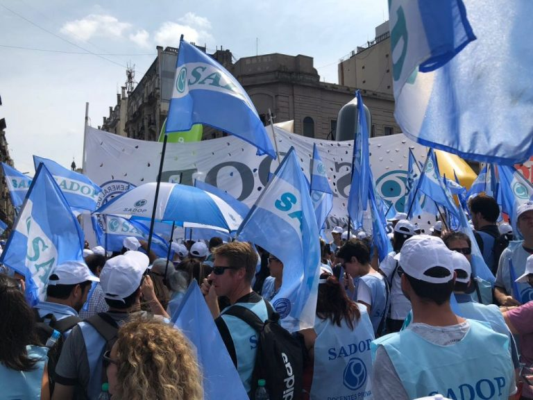 La Seccional Entre Ríos acompañó la marcha en Buenos Aires