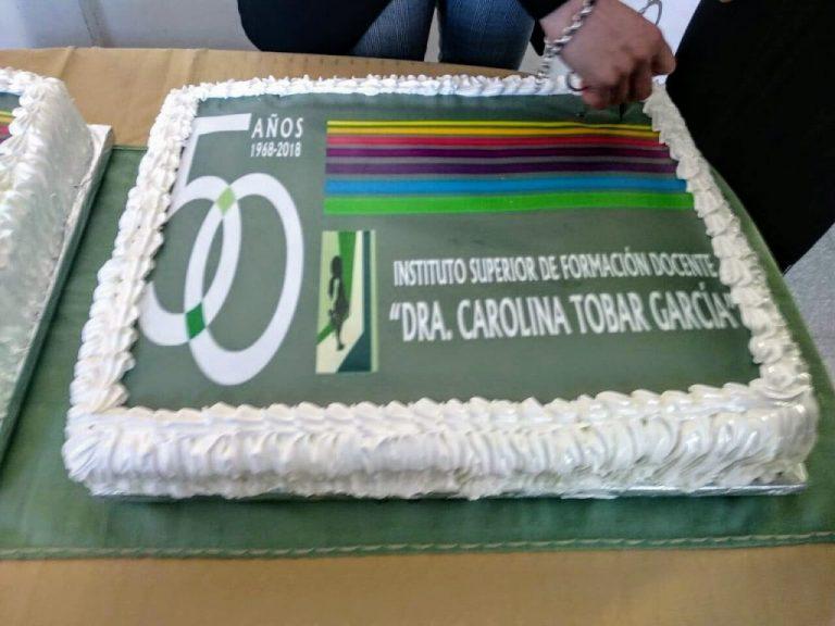 50 años del ISFD Carolina Tobar García