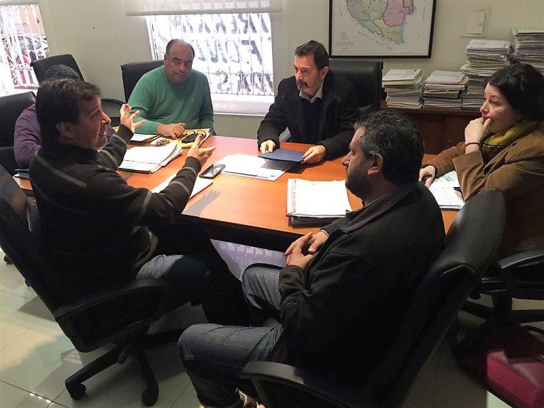 SADOP y IAPV concretan la construcción de viviendas en Chajarí