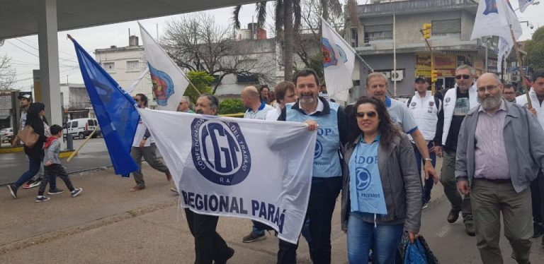 SADOP acompañó la convocatoria de la Multisectorial Paraná