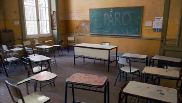 Altísimo acatamiento al paro nacional docente