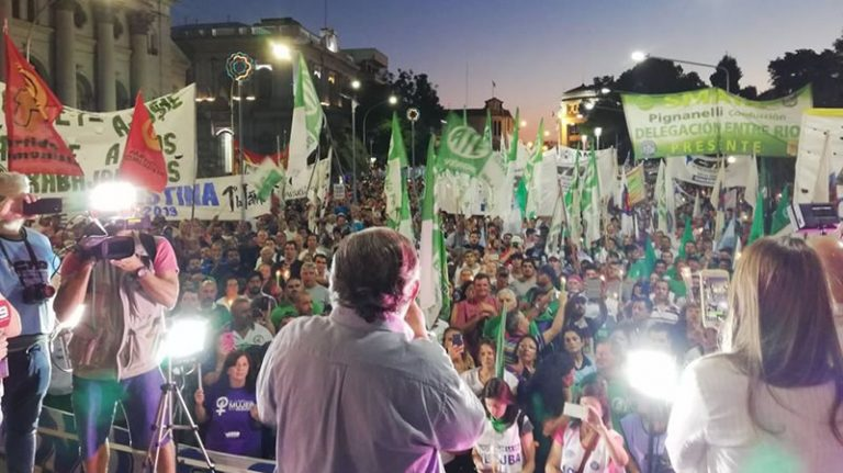 SADOP participó de la Marcha de las Antorchas
