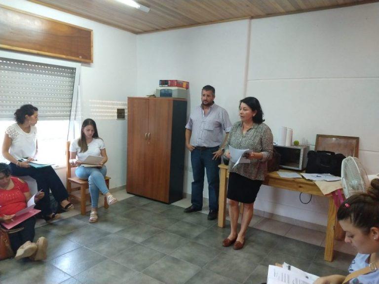 Viviendas: SADOP visitó escuelas en Chajarí