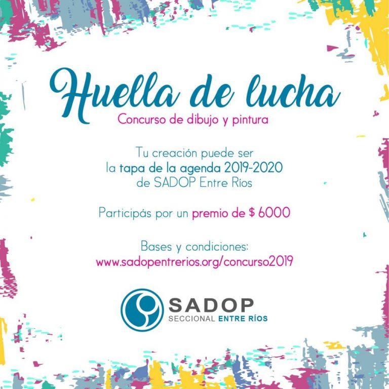 SADOP Entre Ríos lanza concurso de dibujo y pintura