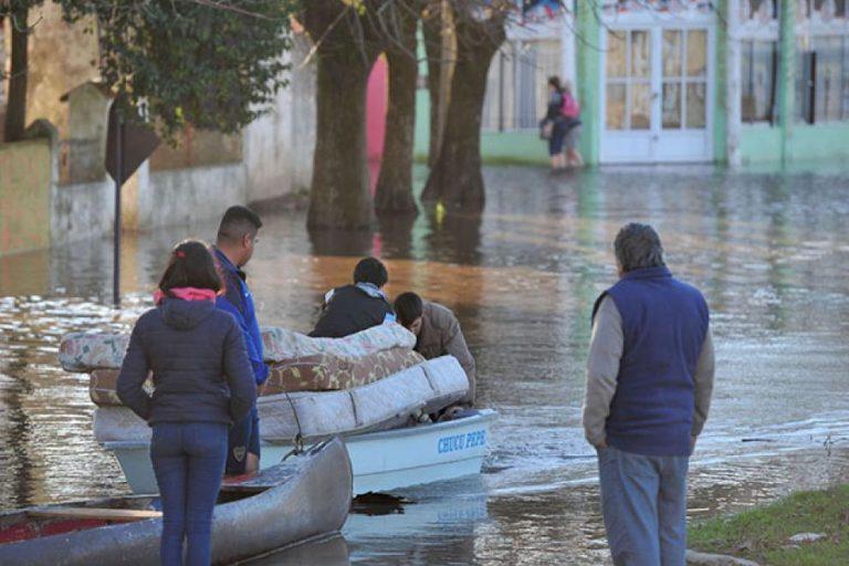 SADOP se solidariza con lxs inundadxs en Gualeguaychú