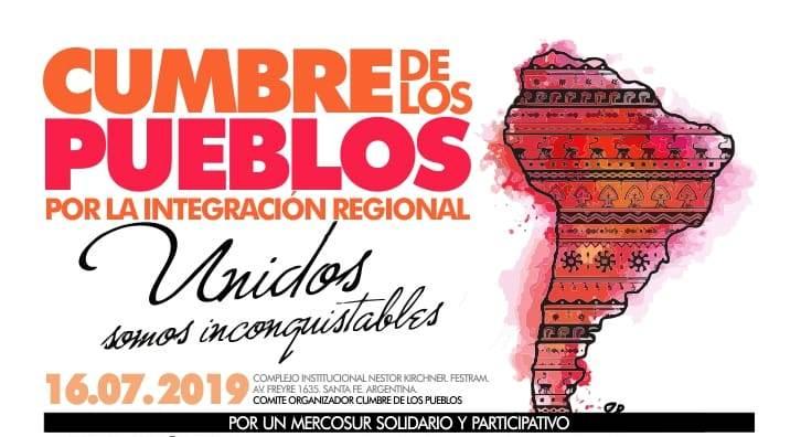 Mercosur hoy: Cumbre de los pueblos libres