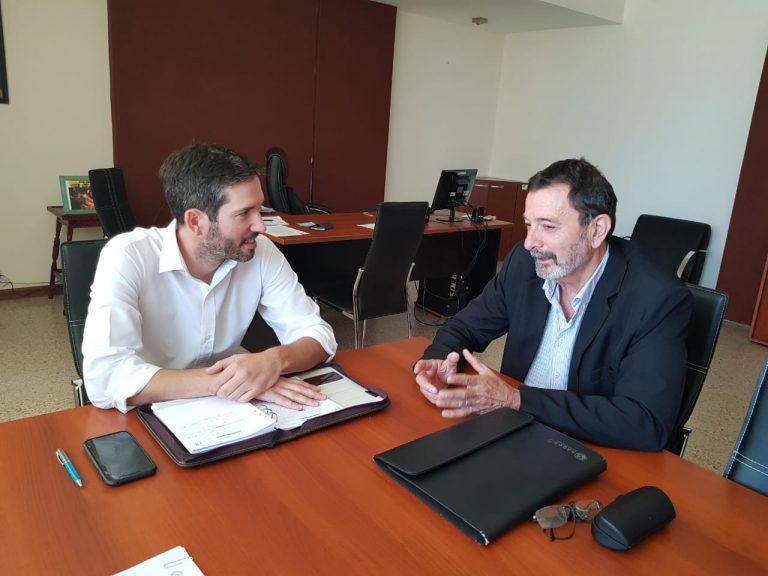 Pesoa se reunió con el nuevo Presidente del CGE