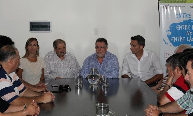 Referentes de la CGT se reunieron en la Secretaría de Trabajo