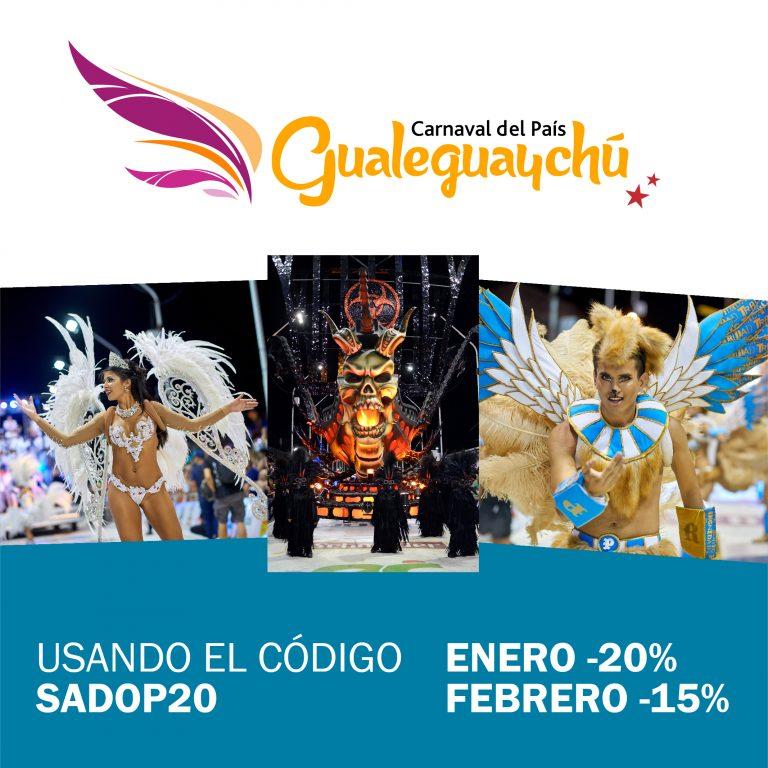 Beneficios SADOP en el Carnaval