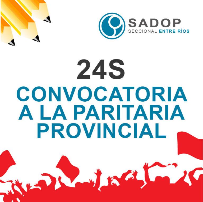 El gobierno provincial convocó a paritarias